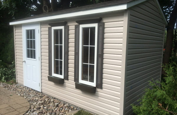 High Quality Wooden Outdoor Storage Sheds Cabanon Fortin